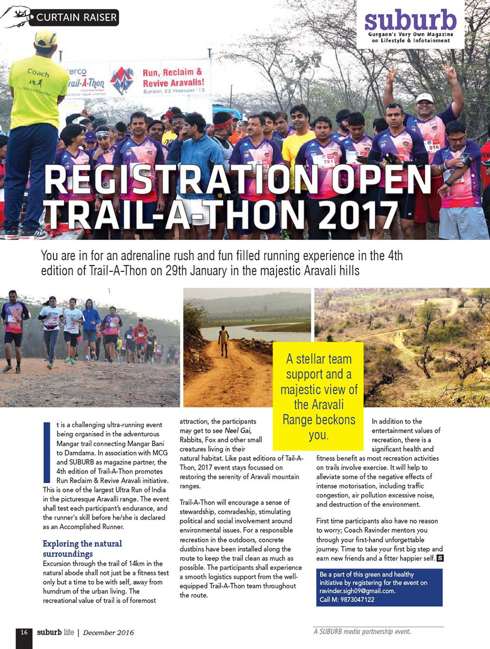 Trail-A-Thon 2017 Gurgaon
